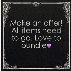 Other - Make an offer! I'd love a closet clear out!
